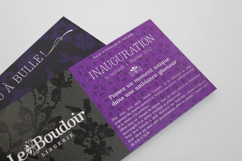 graphisme invitation le-boudoir-lingerie