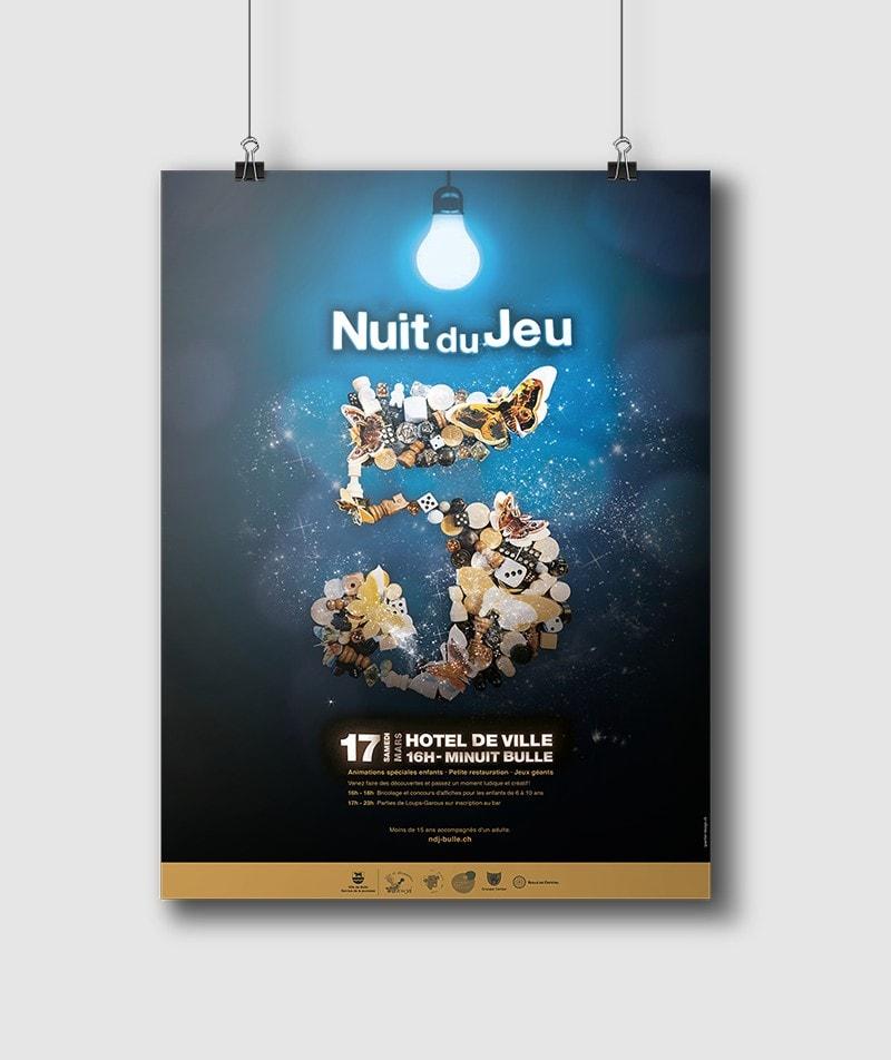 NUIT DU JEU 2018 affiche