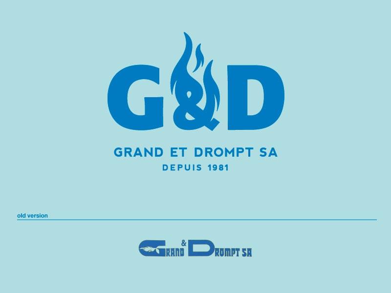 logo grand drompt chauffage relookage