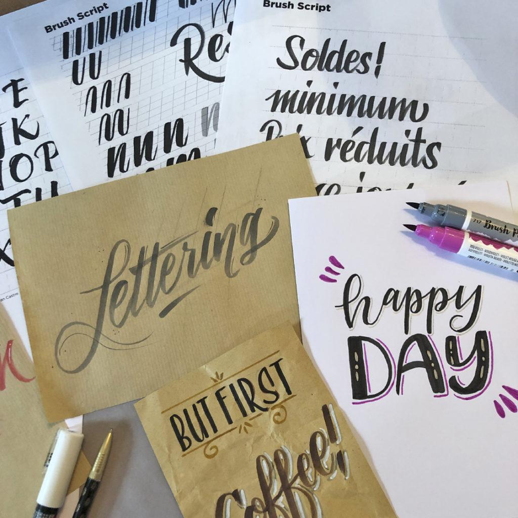 cours de lettering workshop bulle vuadens fribourg